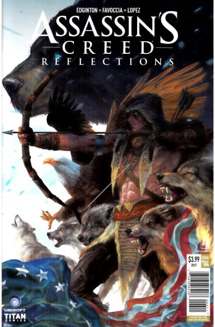 Assassins Creed Reflections #4 Cover A [Titan Comic]