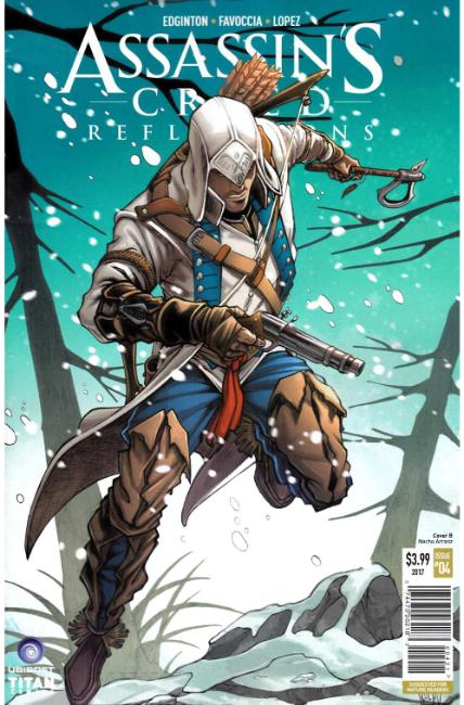 Assassins Creed Reflections #4 Cover B [Titan Comic]