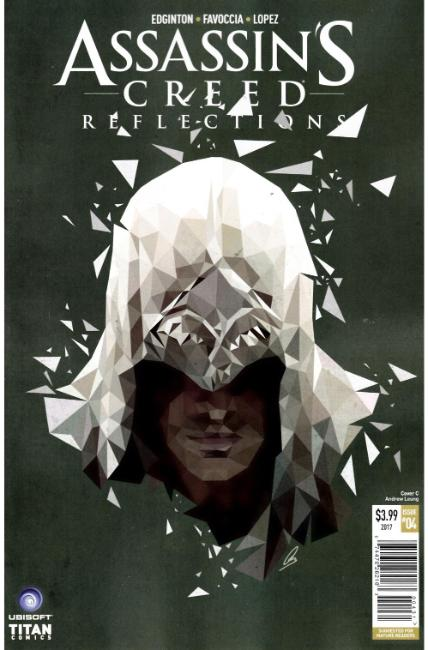 Assassins Creed Reflections #4 Cover C [Titan Comic]