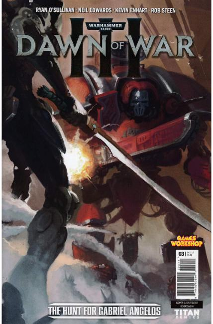 Warhammer 40000 Dawn of War III #3 Cover A [Titan Comic]