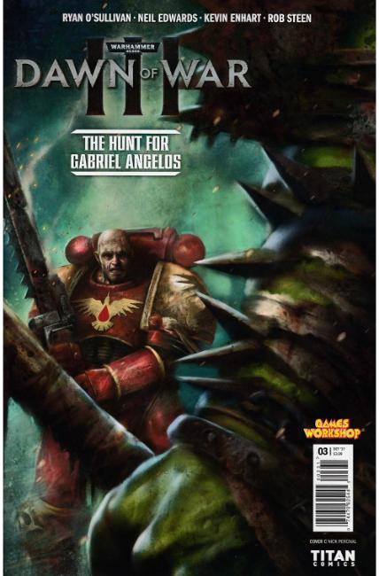 Warhammer 40000 Dawn of War III #3 Cover C [Titan Comic]