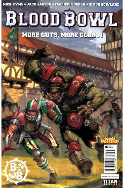 Blood Bowl More Guts More Glory #2 Cover C [Titan Comic] THUMBNAIL