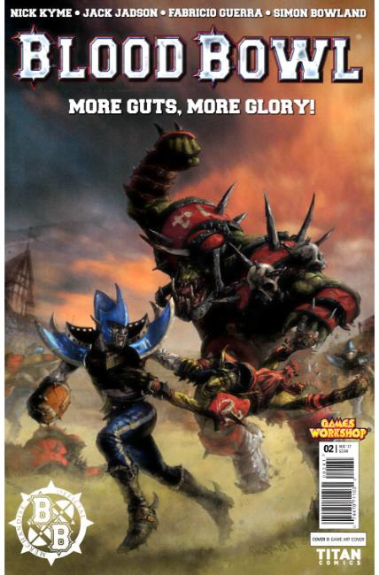 Blood Bowl More Guts More Glory #2 Cover D [Titan Comic] THUMBNAIL