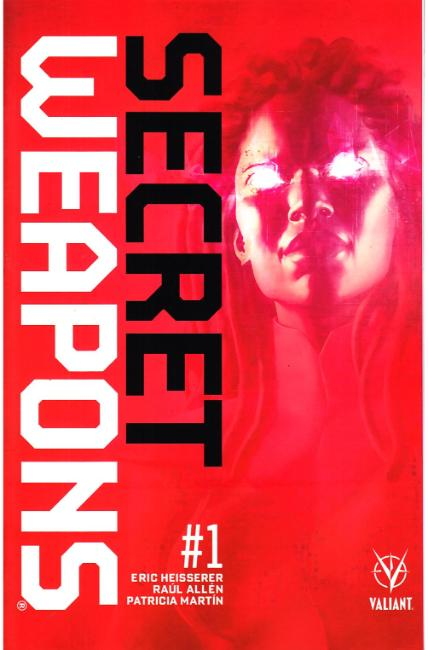 Secret Weapons #1 Cover A [Valiant Comic] THUMBNAIL