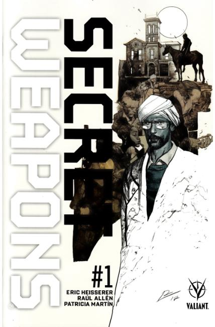 Secret Weapons #1 Cover D- La Torre Variant [Valiant Comic] THUMBNAIL