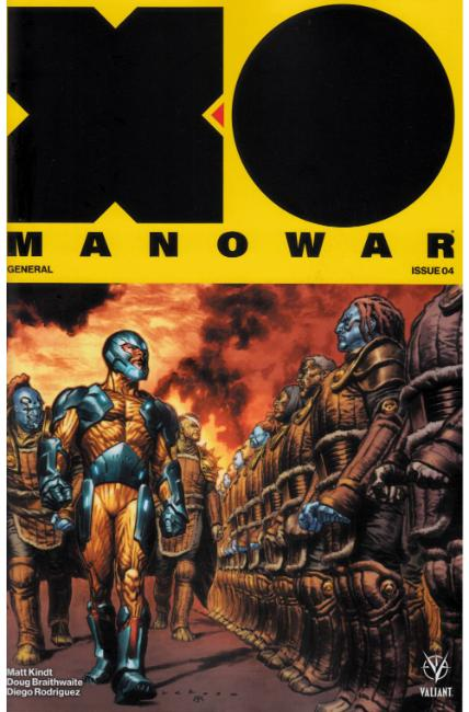 X-O Manowar #4 Cover A [Valiant Comic] THUMBNAIL