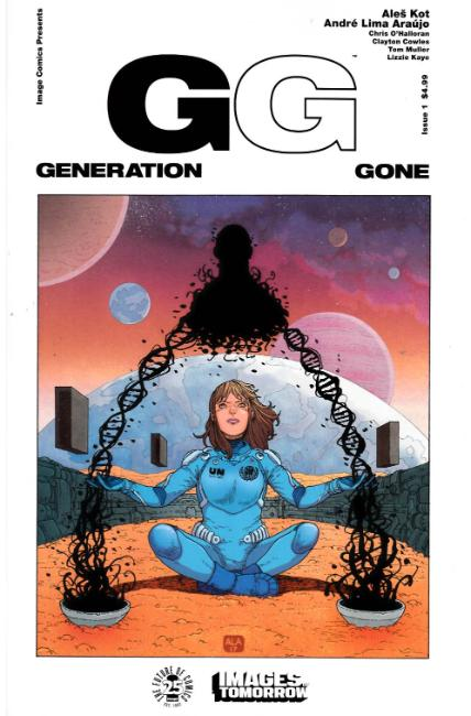 Generation Gone #1 Cover B [Image Comic] THUMBNAIL