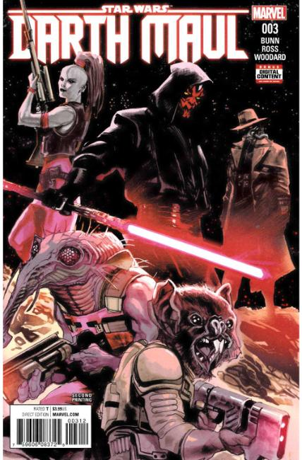 Star Wars Darth Maul #3 Second Printing [Marvel Comic]