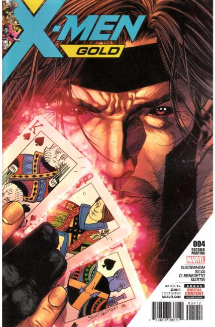 X-Men Gold #4 Second Printing [Marvel Comic]