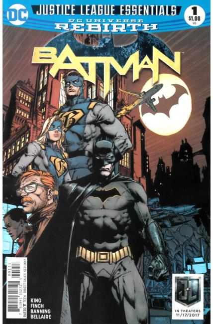DC Justice League Essentials Batman #1 Rebirth [DC Comic] THUMBNAIL