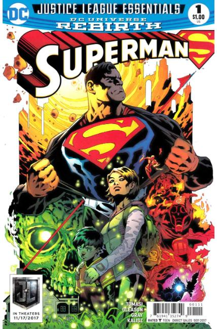 DC Justice League Essentials Superman #1 Rebirth [DC Comic] THUMBNAIL