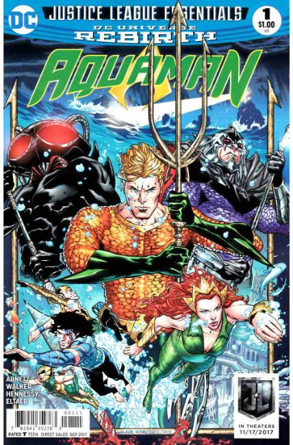 DC Justice League Essentials Aquaman #1 Rebirth [DC Comic] THUMBNAIL