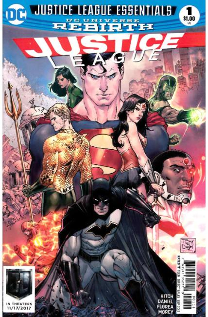 DC Justice League Essentials Justice League #1 Rebirth [DC Comic] THUMBNAIL