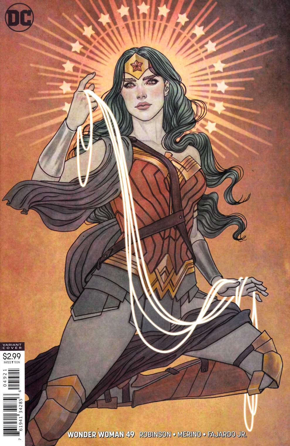 Wonder Woman #49 Frison Variant Cover Near Mint (9.4) [DC Comic] LARGE