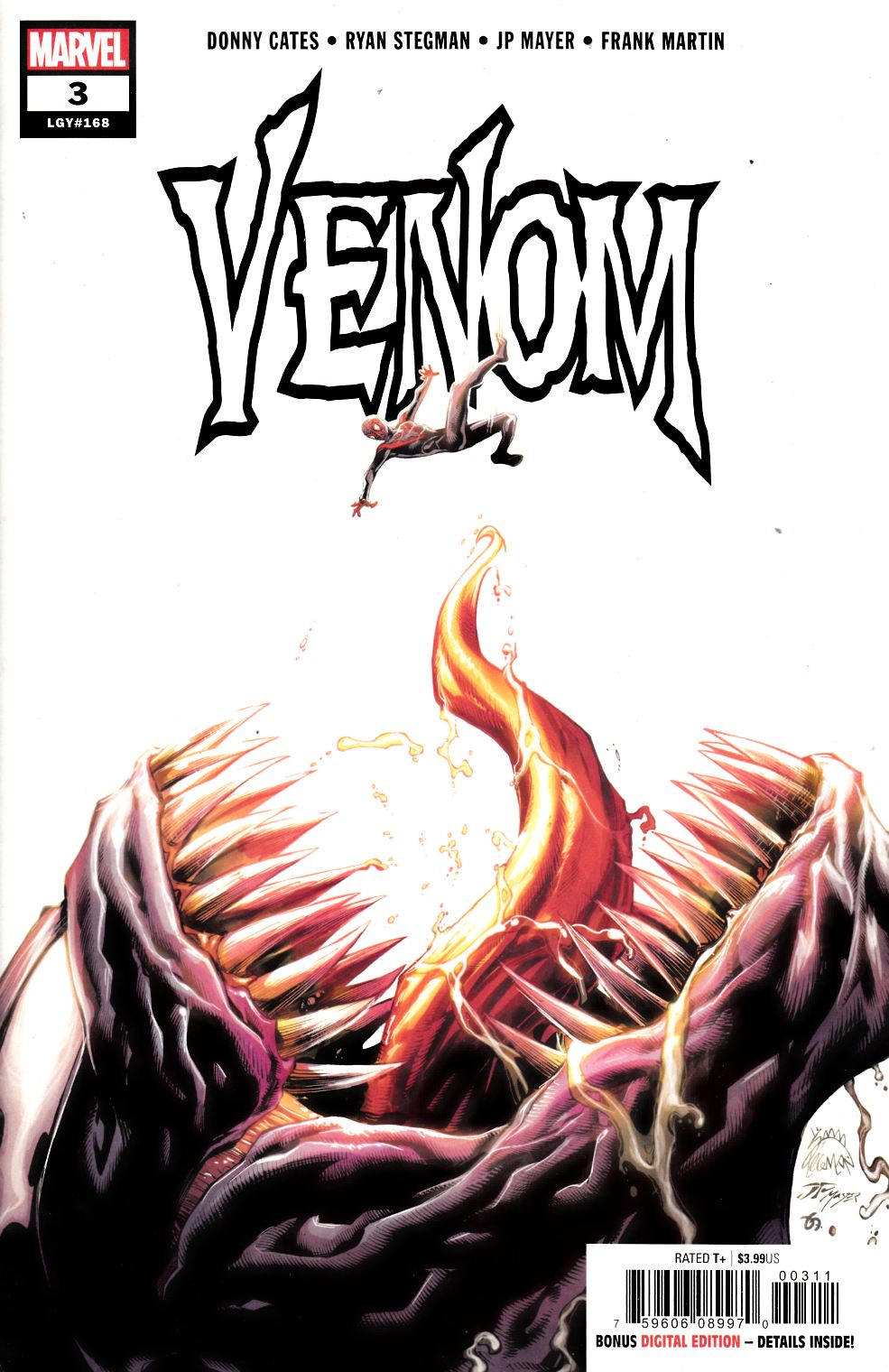 Venom #3 Near Mint (9.4) [Marvel Comic] THUMBNAIL