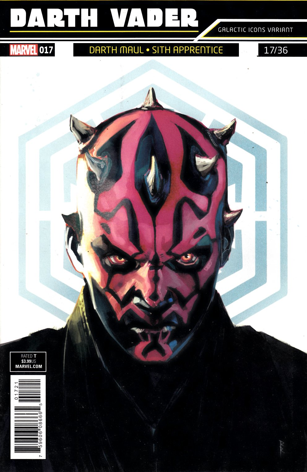 Star Wars Darth Vader #17 Reis Galactic Icon Variant Cover Near Mint (9.4) [Marvel Comic] LARGE