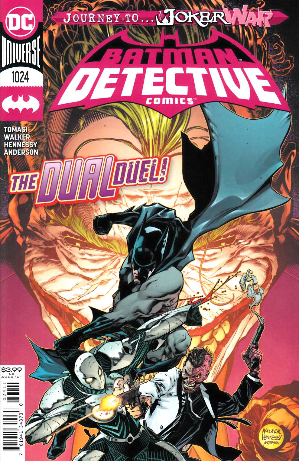 Detective Comics #1024 Near Mint (9.4) [DC Comic] THUMBNAIL