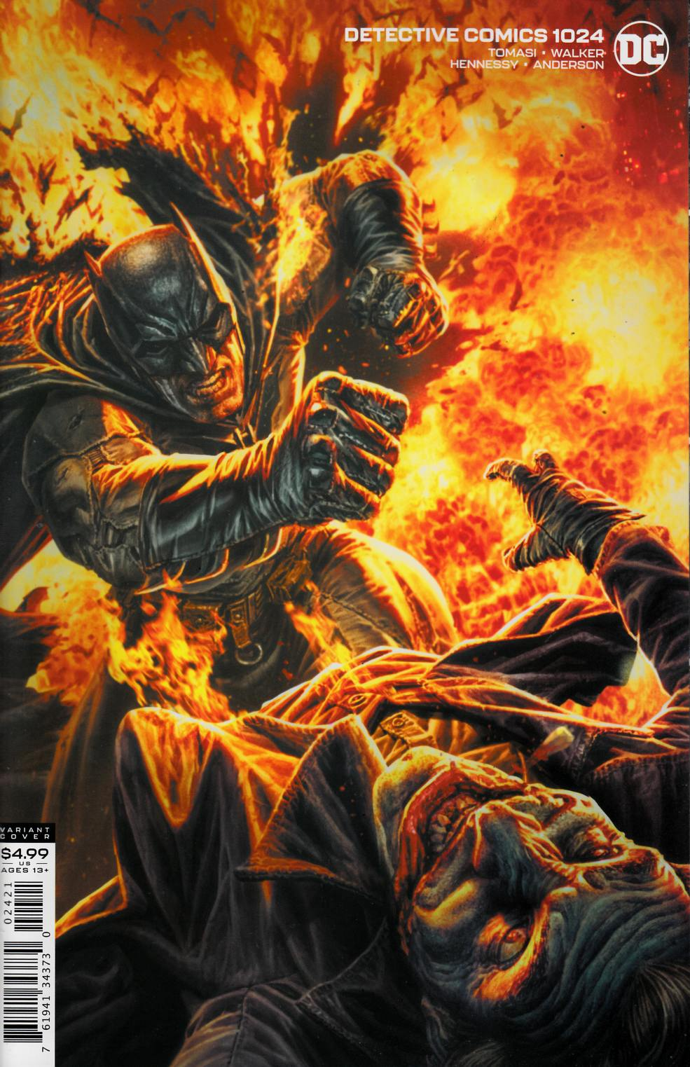 Detective Comics #1024 Bermejo Variant Cover Near Mint (9.4) [DC Comic] THUMBNAIL