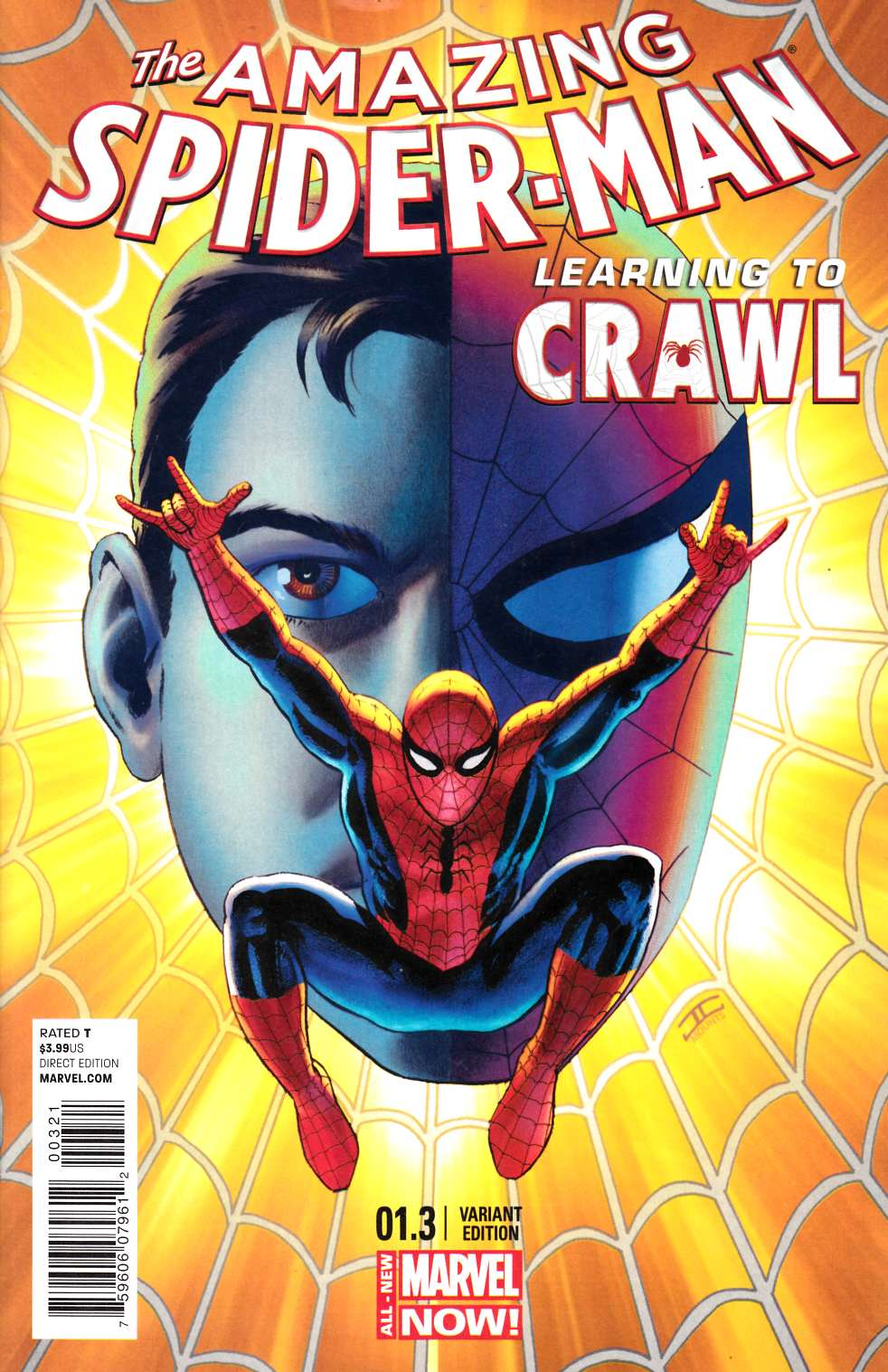 Amazing Spider-Man #1.3 Cassaday Variant Cover [Comic] THUMBNAIL