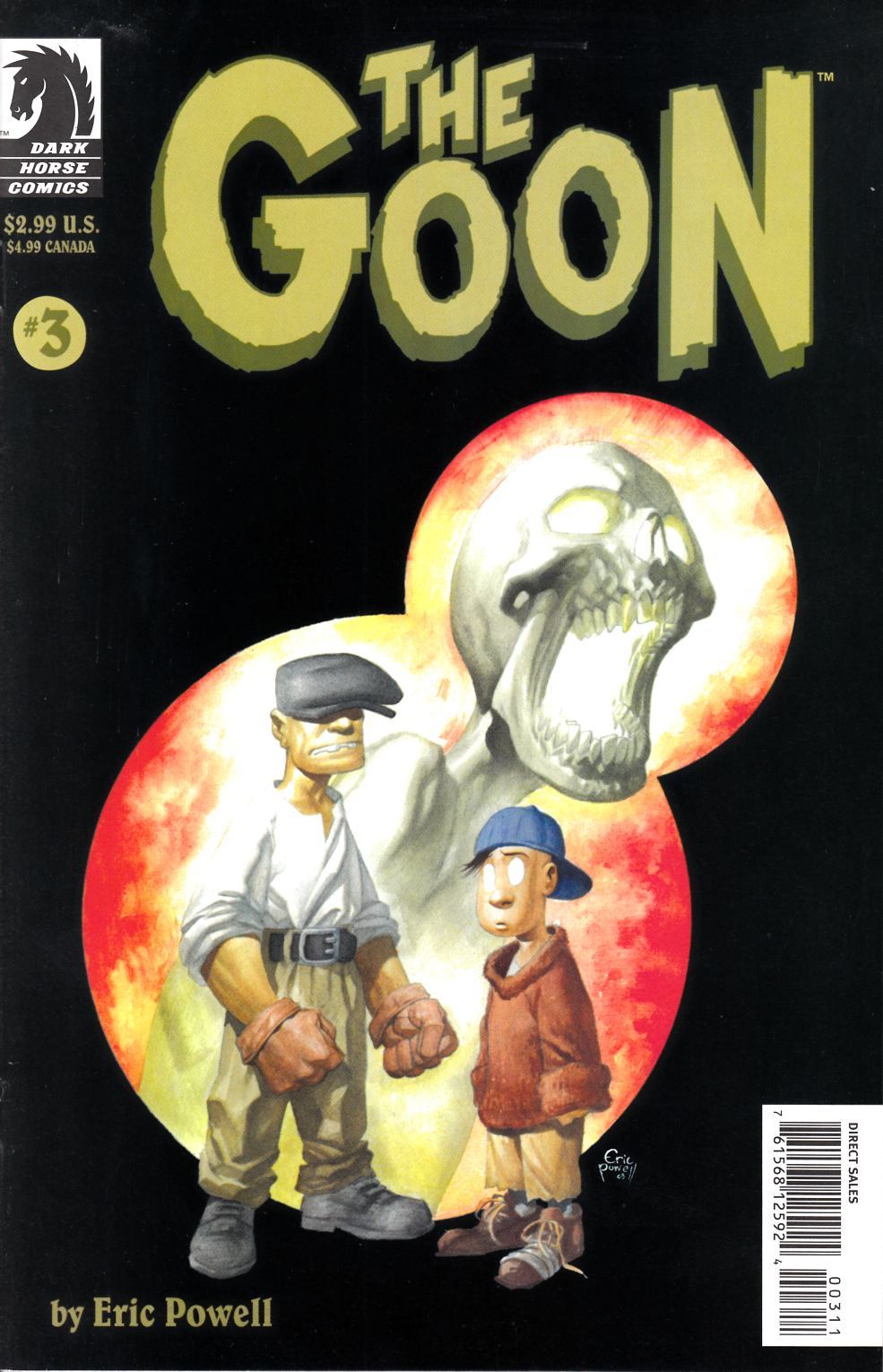 Goon #3 Near Mint (9.4) [Dark Horse Comic] THUMBNAIL