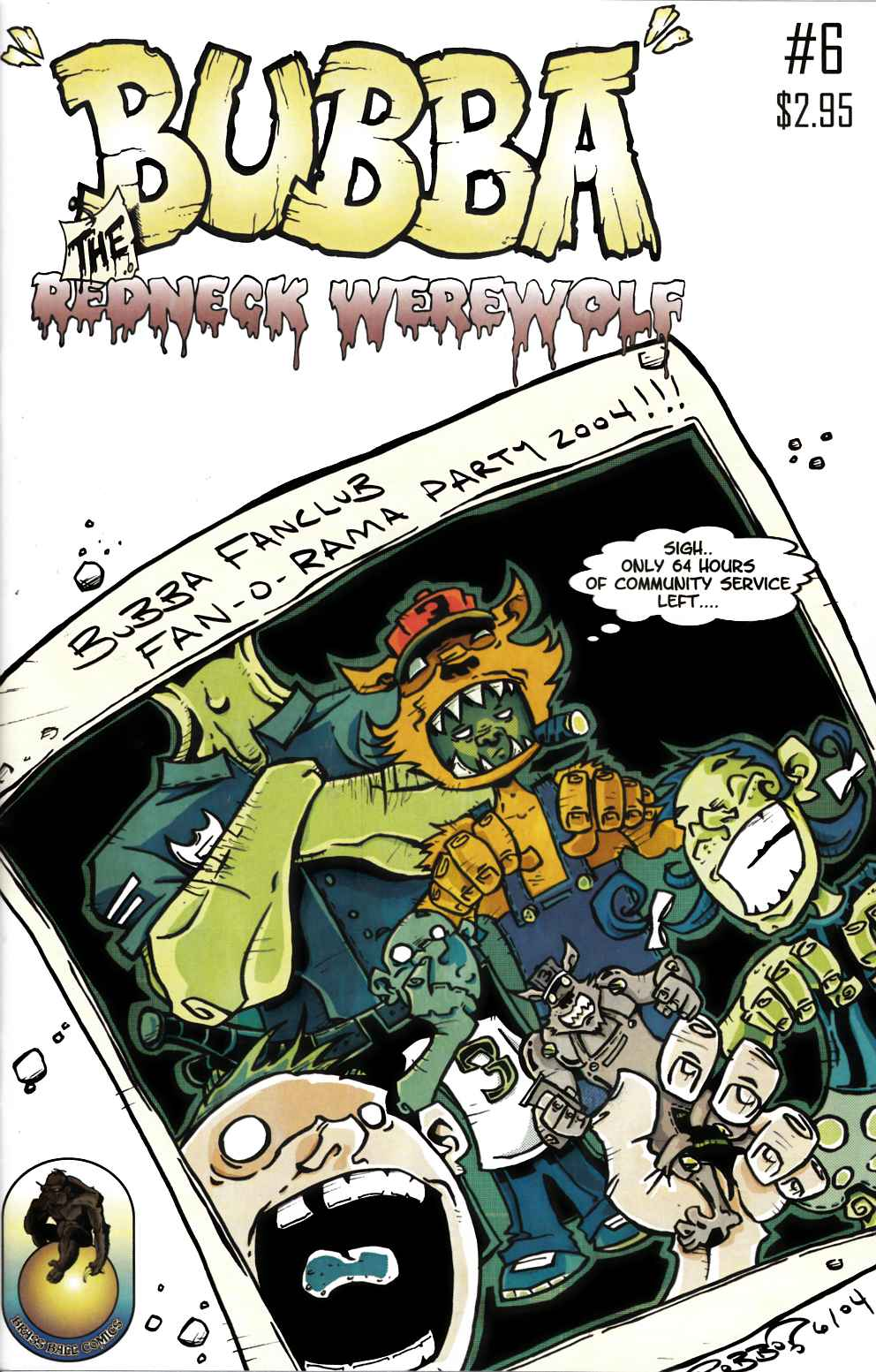Bubba the Redneck Werewolf #6 Near Mint (9.4) [Brass Ball Comic] THUMBNAIL