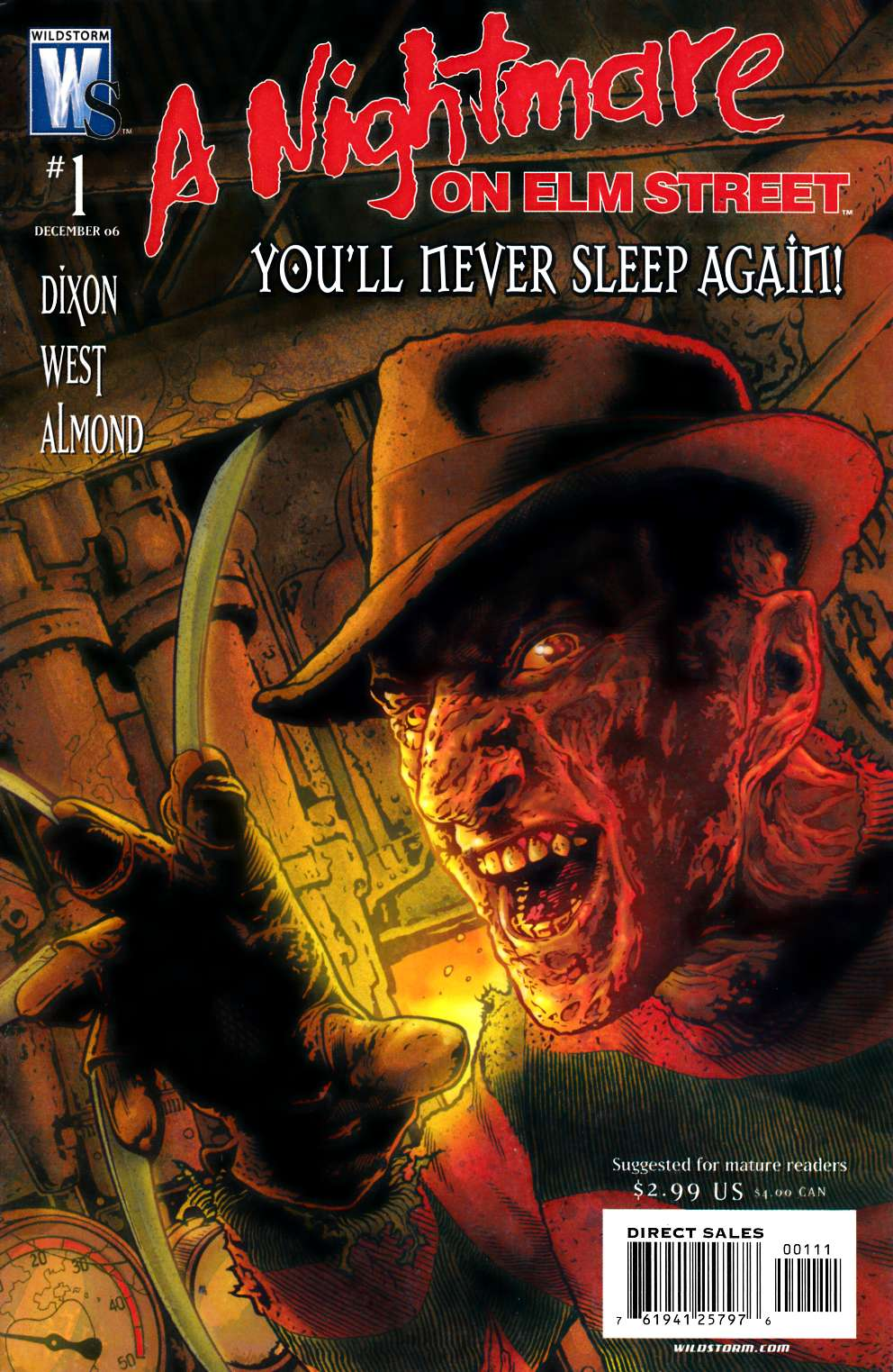 Nightmare On Elm Street #1 Near Mint (9.4) [DC Comic] THUMBNAIL