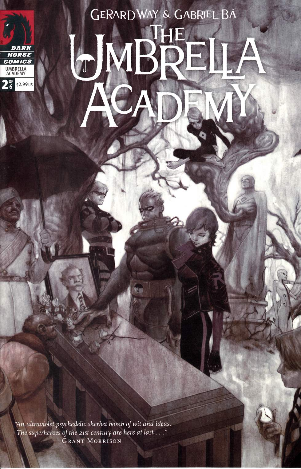 Umbrella Academy Apocalypse Suite #2 [Dark Horse Comic]