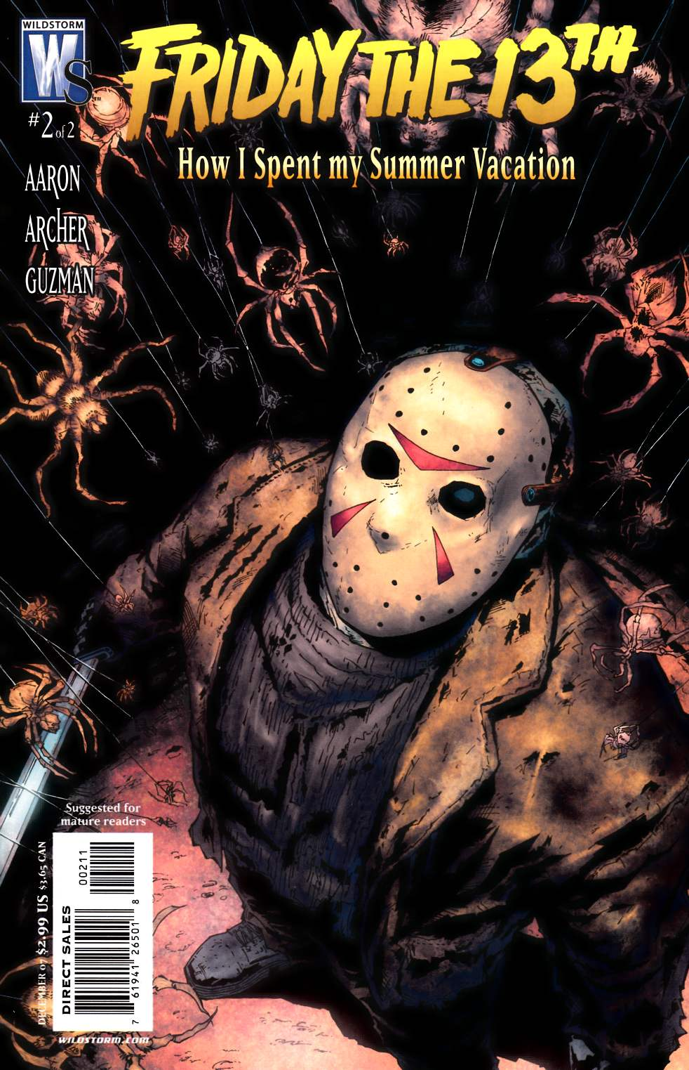 Friday the 13th How I Spent My Summer Vacation #2 [DC Comic] THUMBNAIL