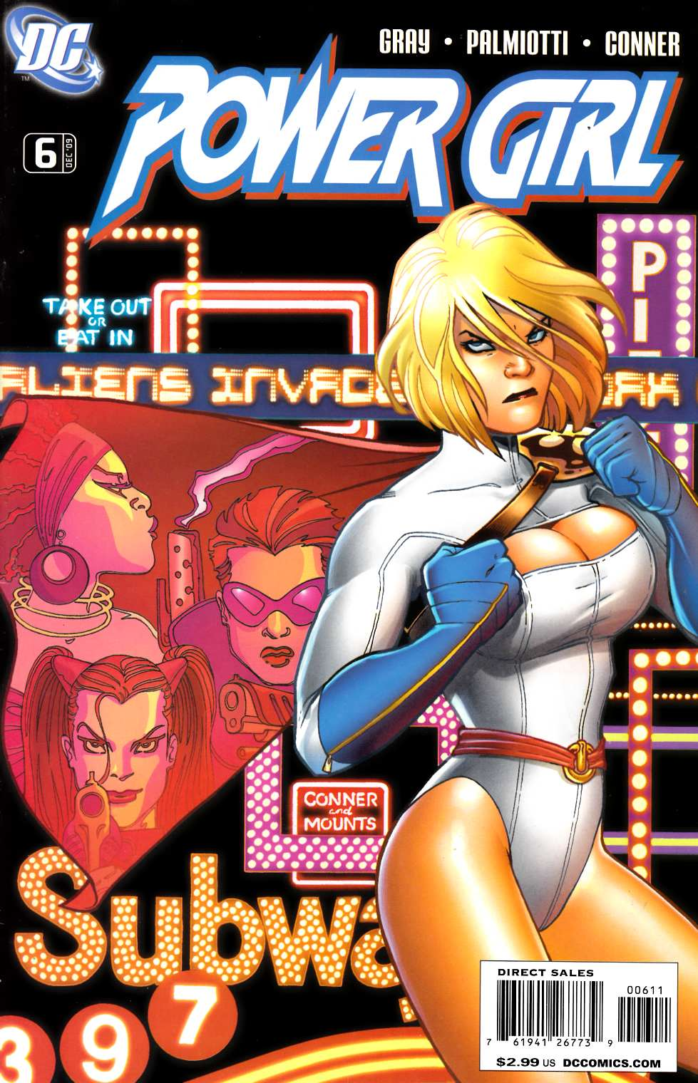 Power Girl #6 Fine (6.0) [DC Comic]_THUMBNAIL