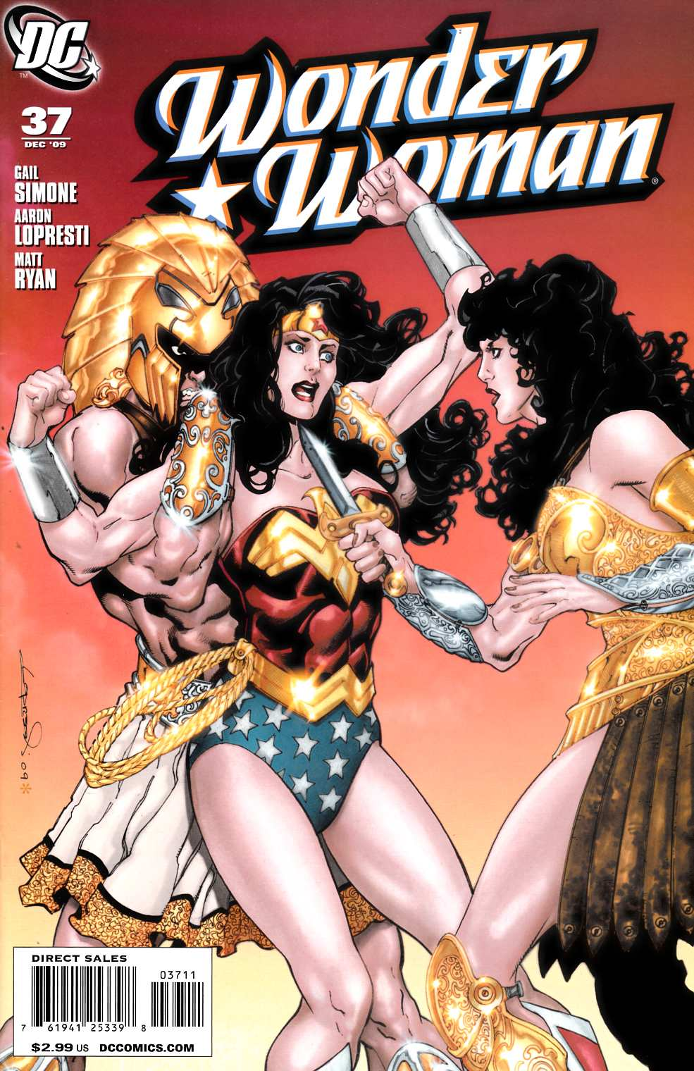 Wonder Woman #37 Near Mint (9.4) [DC Comic] THUMBNAIL