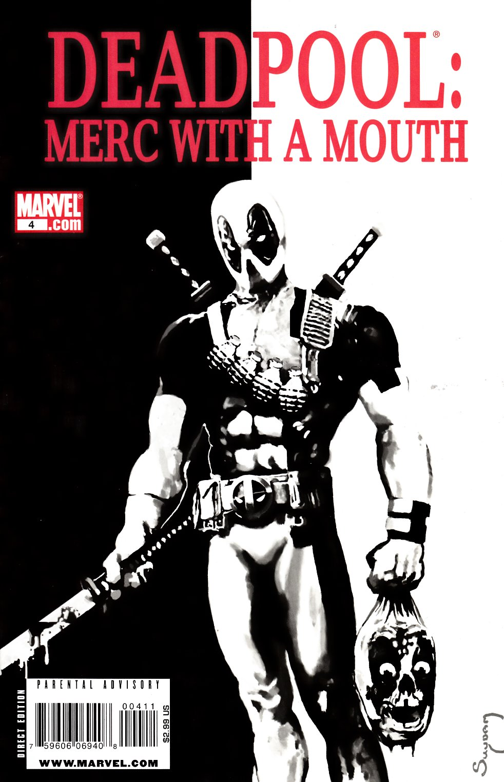 Deadpool Merc with a Mouth #4 [Marvel Comic] THUMBNAIL