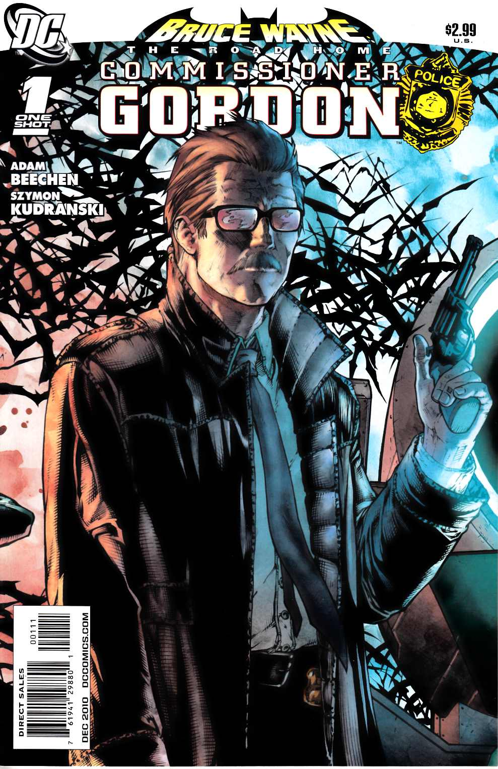 Bruce Wayne the Road Home Commissioner Gordon #1 Near Mint (9.4) [DC Comic] LARGE
