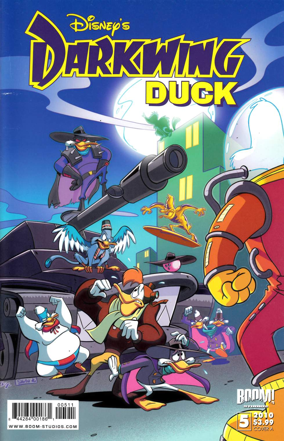 Darkwing Duck #5 Cover A Very Fine (8.0) [Boom Comic] THUMBNAIL