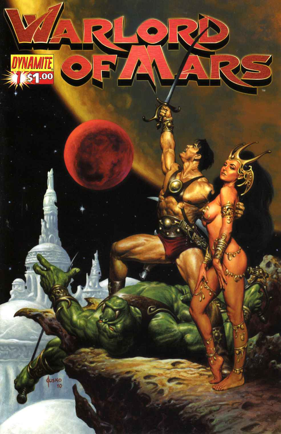 Warlord of Mars #1 Jusko Cover Near Mint (9.4) [Dynamite Comic] THUMBNAIL