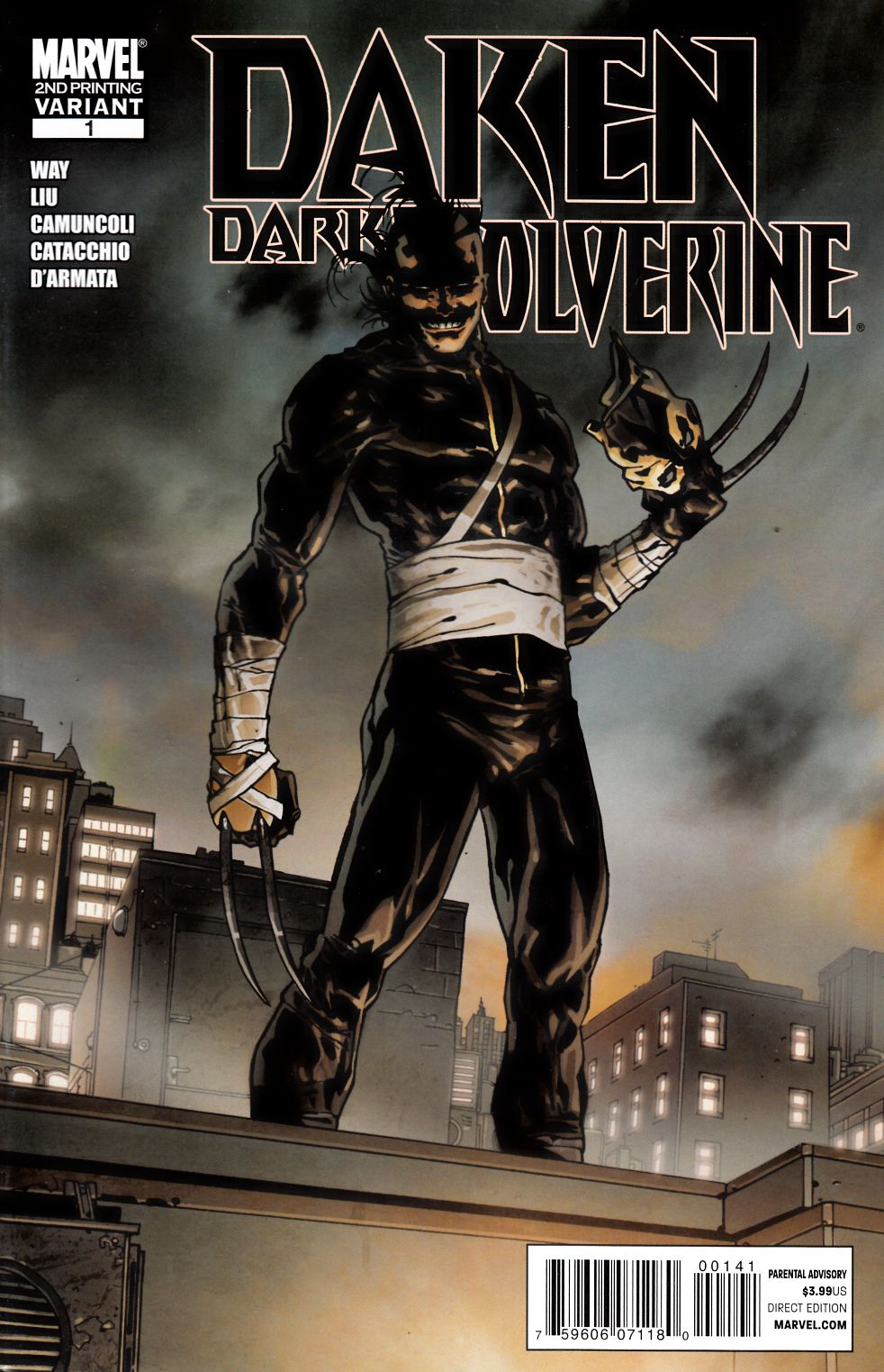 Daken Dark Wolverine #1 Second Printing Fine (6.0) [Marvel Comic] THUMBNAIL