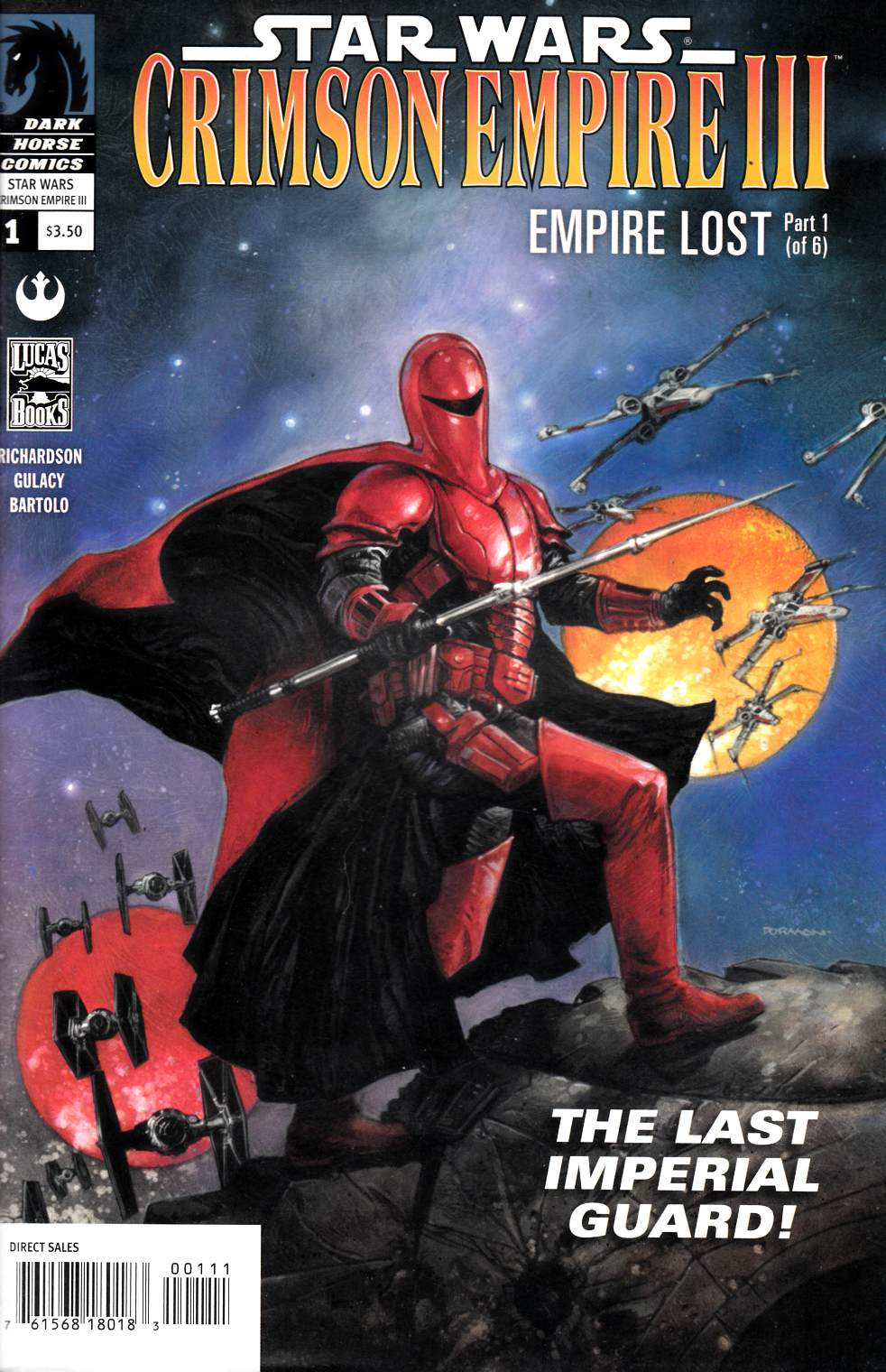 Star Wars Crimson Empire III Empire Lost #1 Near Mint Minus (9.2) [Dark Horse Comic]_THUMBNAIL