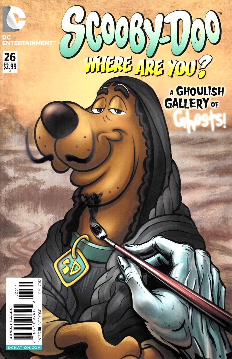 Scooby Doo Where Are You #26 Fine (6.0) [DC Comic] THUMBNAIL