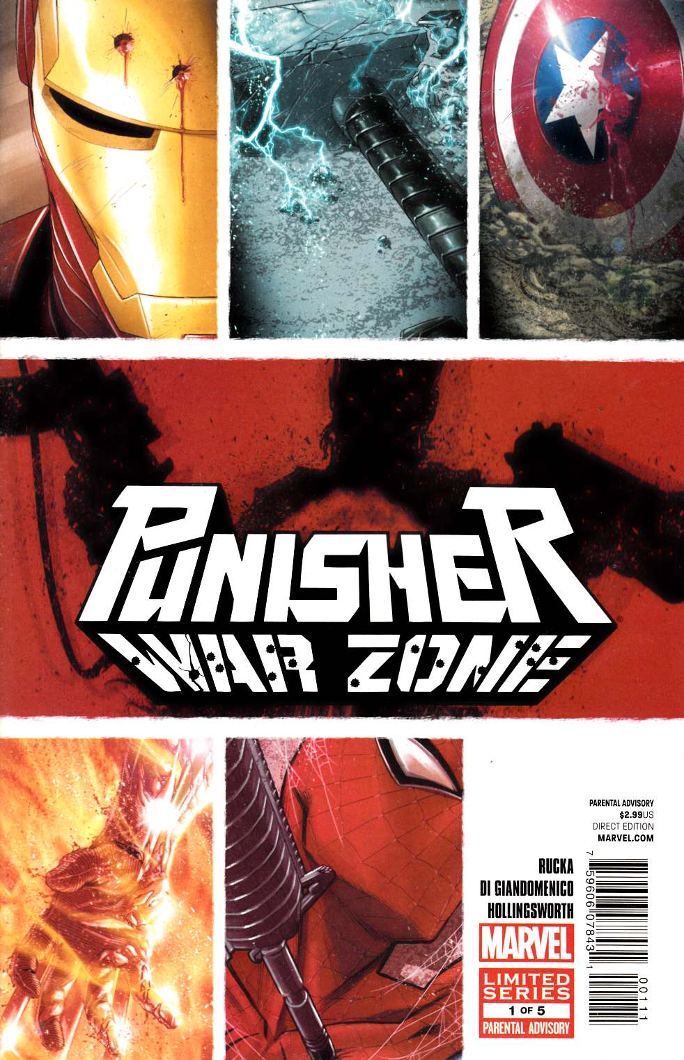 Punisher War Zone #1 Near Mint (9.4) [Marvel Comic] THUMBNAIL