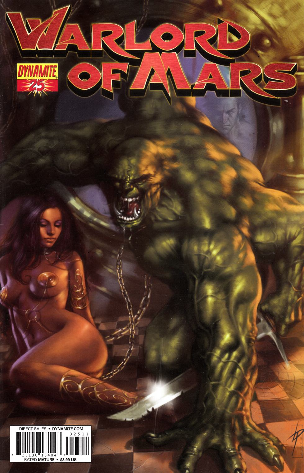 Warlord of Mars #25 Parrillo Cover Near Mint Minus (9.2) [Dynamite Comic] THUMBNAIL