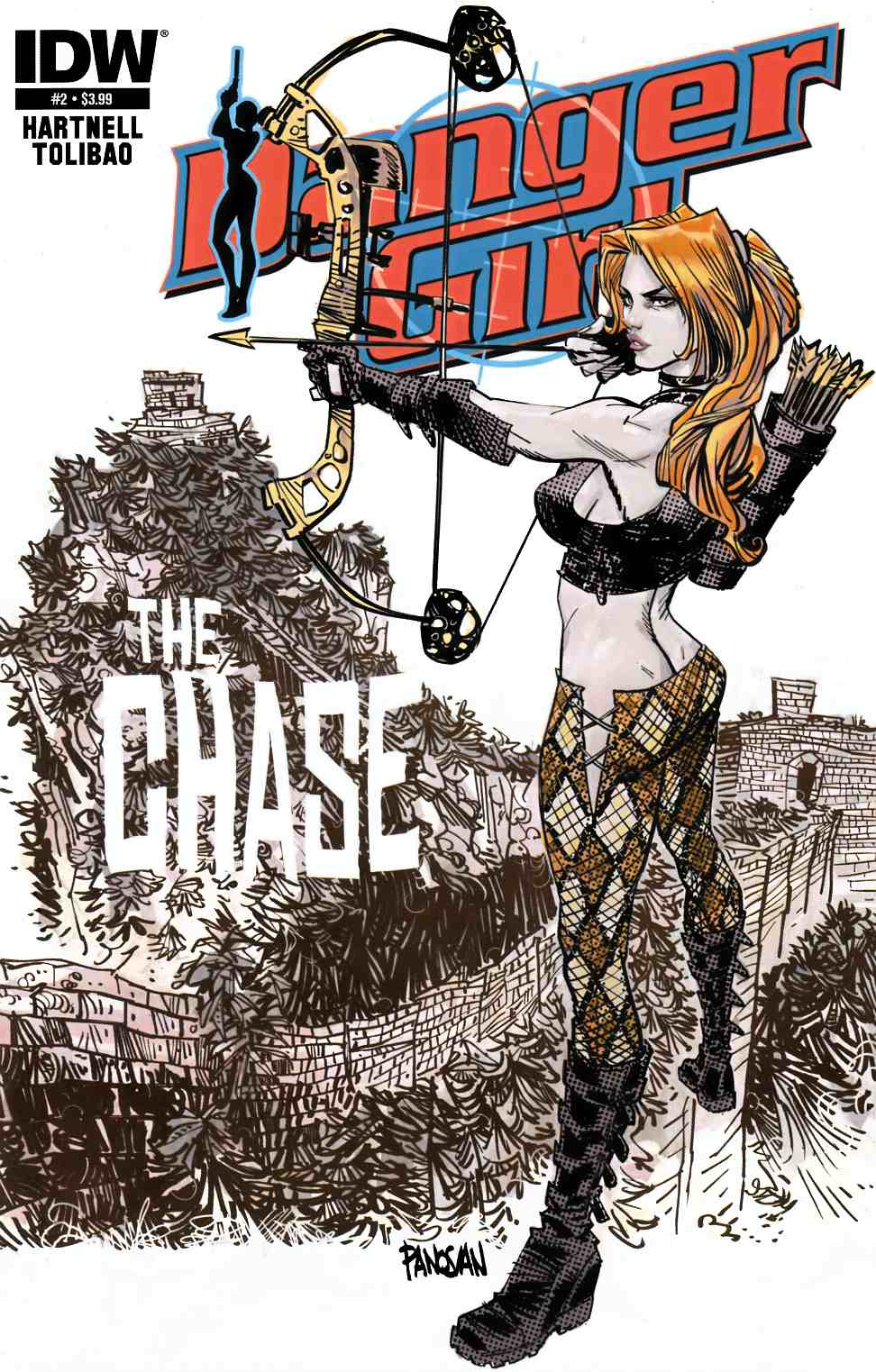 Danger Girl the Chase #2 [IDW Comic]_THUMBNAIL