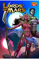 Lords of Mars #3 Casas Subscription Variant Cover [Comic]
