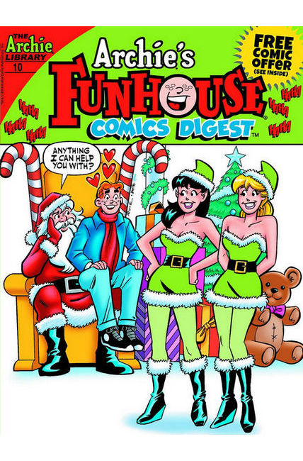 Archie Funhouse Comics Digest #10 Near Mint (9.4) [Archie Comic] LARGE