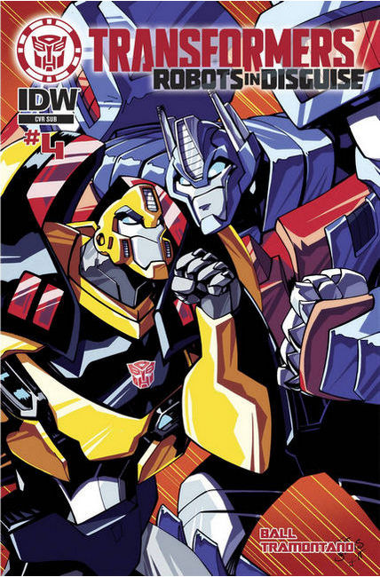 Transformers Robots in Disguise Animated #4 Subscription Cover [IDW Comic] THUMBNAIL