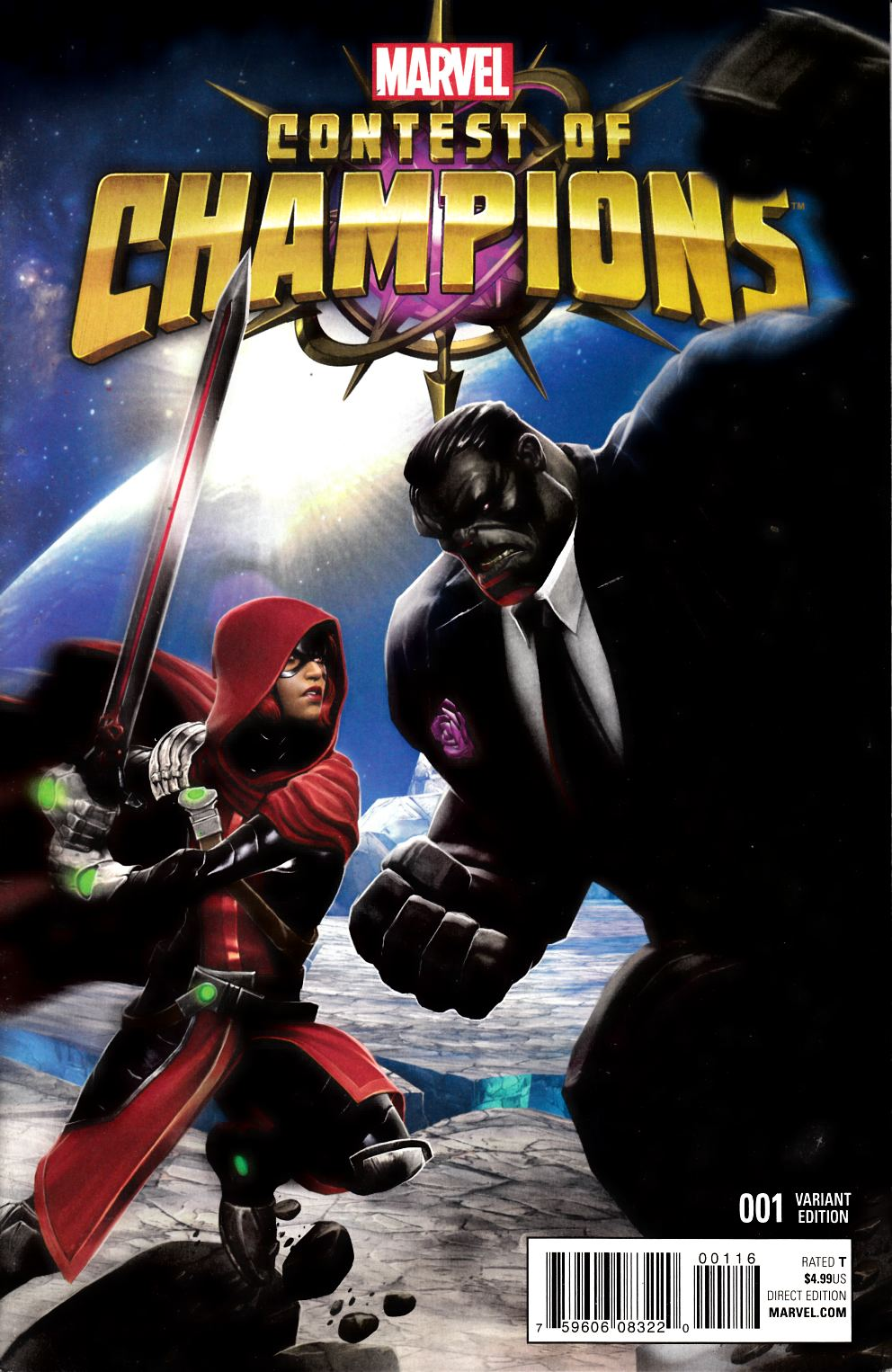 Contest of Champions #1 Game Variant Cover Very Fine (8.0) [Marvel Comic] LARGE