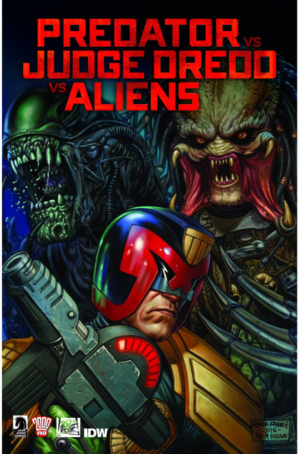 Predator vs Judge Dredd vs Aliens #4 [Dark Horse Comic]