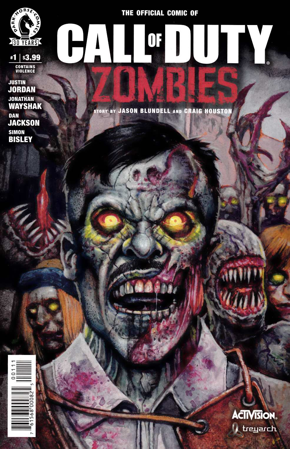 Call of Duty Zombies #1 Near Mint (9.4) [Dark Horse Comic] THUMBNAIL