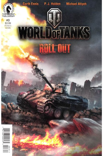 World of Tanks #3 [Dark Horse Comic] THUMBNAIL