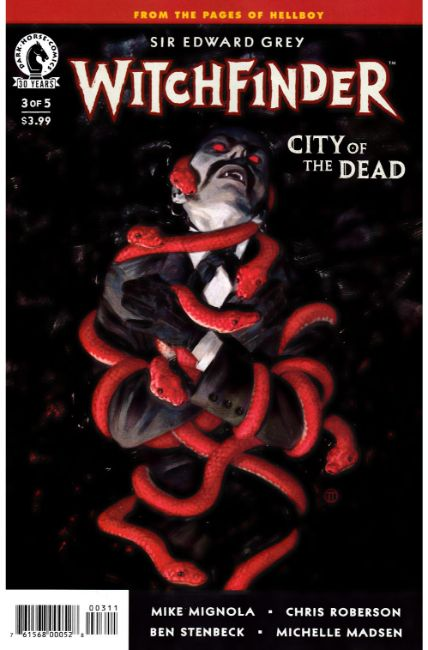 Witchfinder City of the Dead #3 [Dark Horse Comic]
