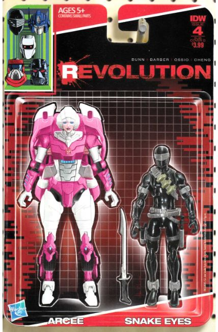 Revolution #4 Subscription Cover D [IDW Comic] THUMBNAIL