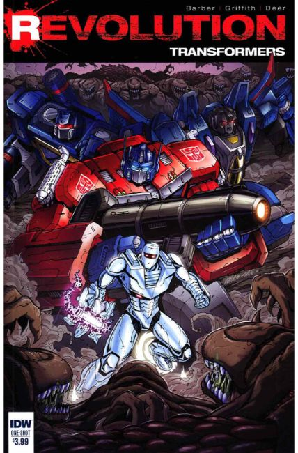 Transformers Revolution #1 [IDW Comic] THUMBNAIL